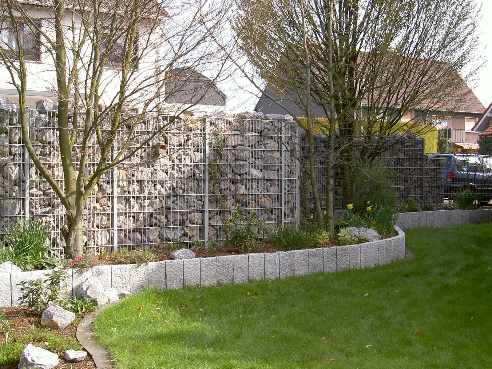 Complete packages gabions
