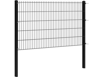 Double wire fence complete package