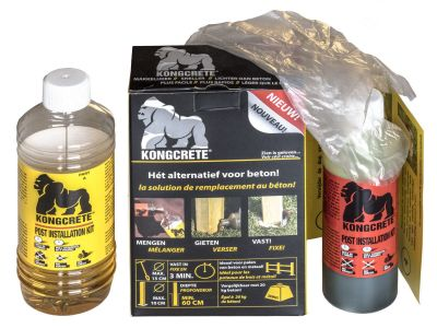 Kongcrete installation kit small
