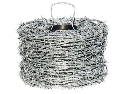 Barbed wire 200 meters galvanized