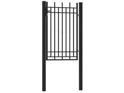 Ornamental gate elegant | black